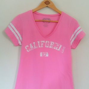 California T-shirt Pink Made By Fifth Sun
